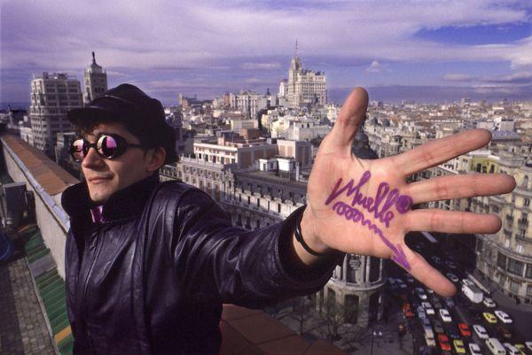 Famoso grafitero de Madrid