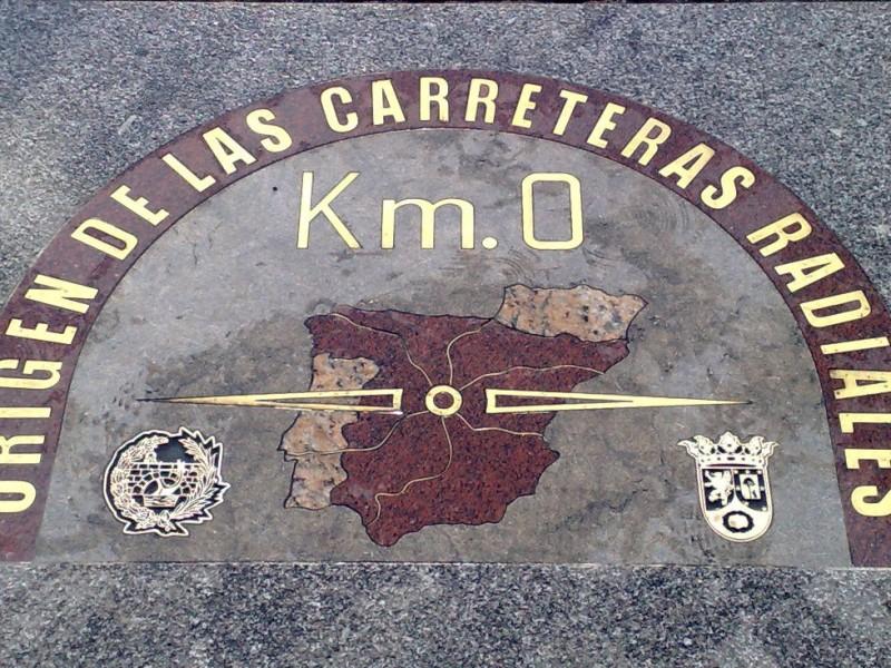 Placa Km 0 Madrid