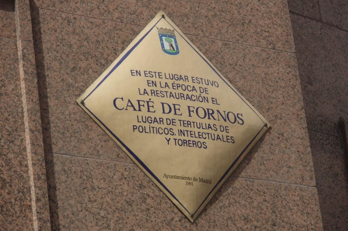 Café de Fornos en Madrid