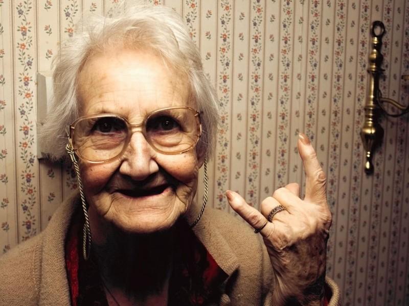 La abuela rockera de Vallecas