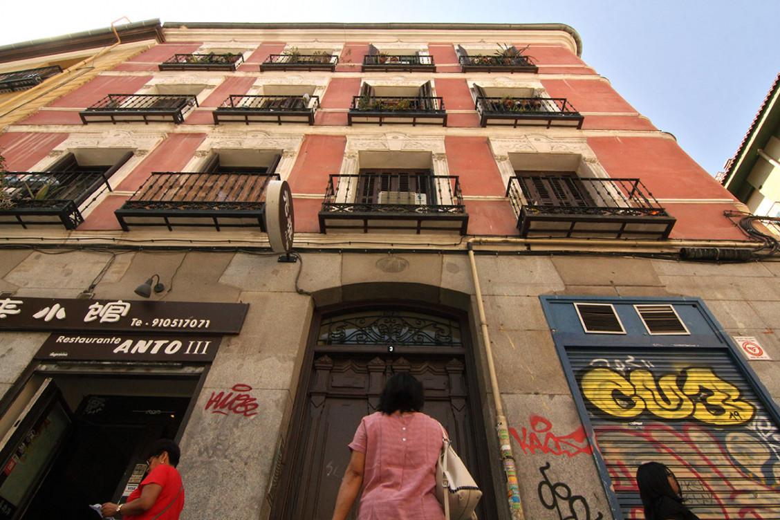 La casa maldita de Madrid