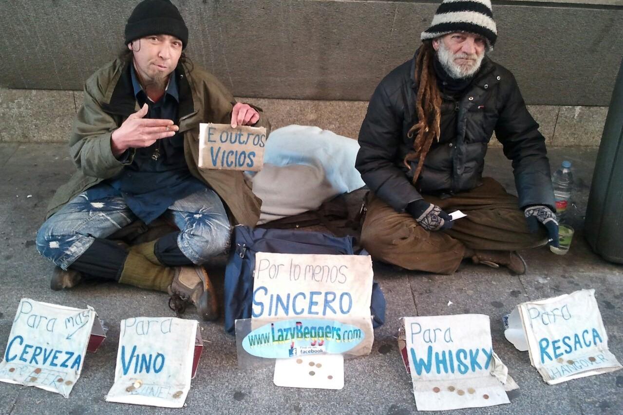 Los vagabundos vagos de Madrid